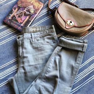 Minty Gap Girlfriend Jeans